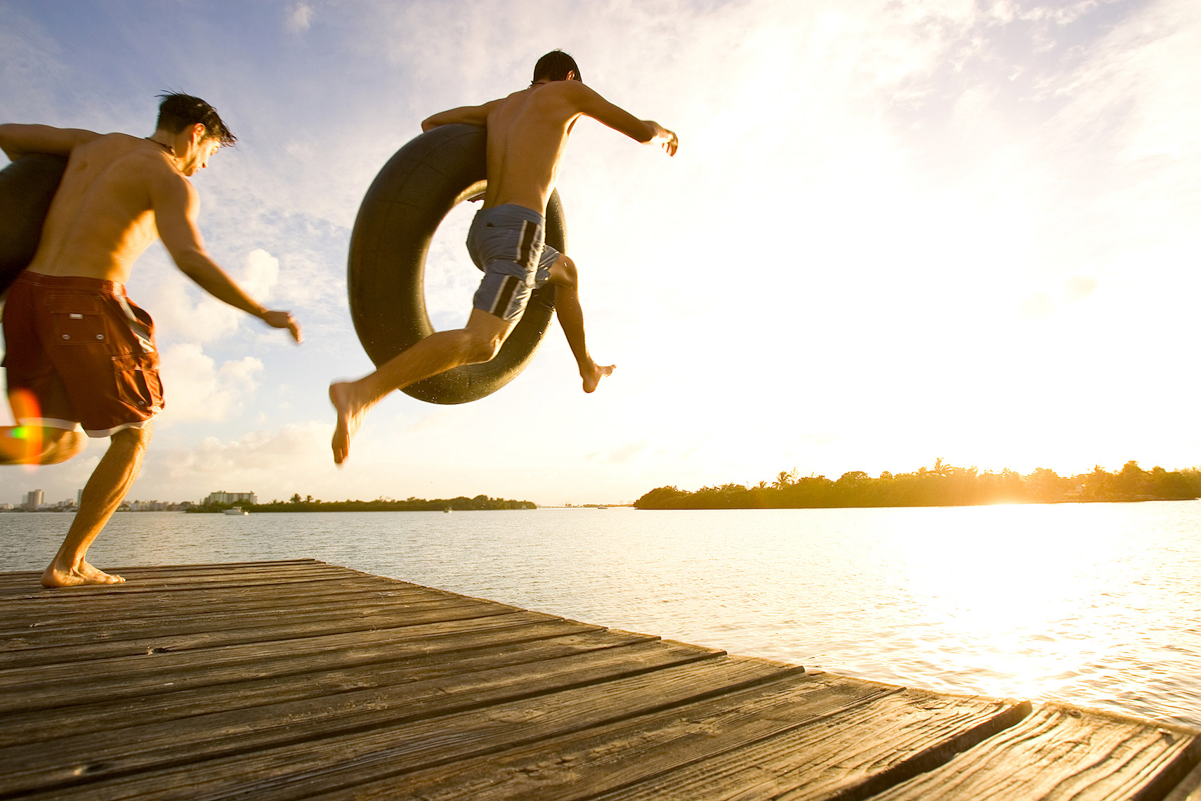 teenagers jumping off dock _shot for Coca_Cola_Robert_Holland.jpg